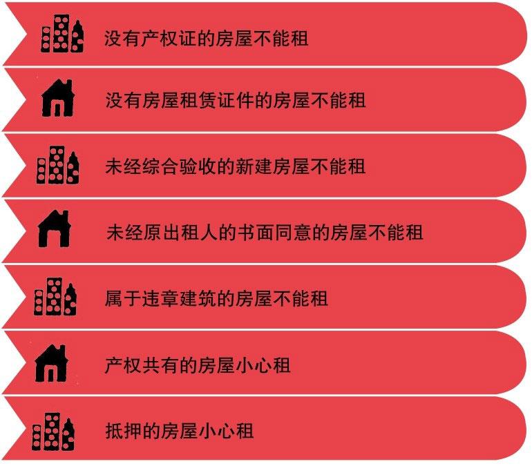 选择租赁房屋的原则